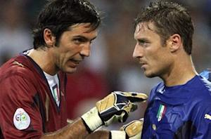 Buffon: 'Immortal' Totti can land World Cup spot for Italy