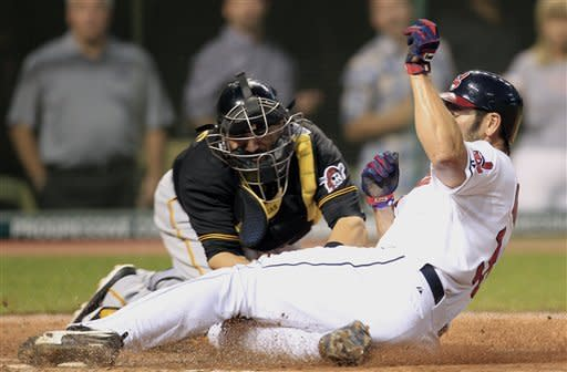 Indians blank Pirates 2-0