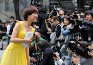 Chinese actress Ma Su (L) attends the opening of the Tokyo International Film Festival in 2011. China's main entry to this year's festival has apparently been pulled, the event's organisers said Friday, as a bitter row with Japan over islands spilled over to the arts