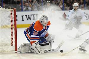 NHL: San Jose Sharks at Edmonton Oilers
