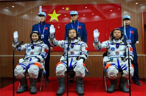 China to send its first woman into space