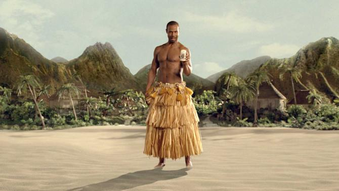 In this advertisement provided Procter & Gamble Co., actor Isaiah Mustafa is featured in a new Old Spice commercial. (AP Photo/Procter & Gamble Co.) ** NO SALES **