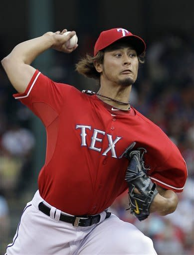 Darvish wins again with 4-1 victory over A's