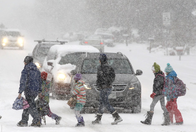 Midwest Hit By Its First Major Snowstorm Of Season