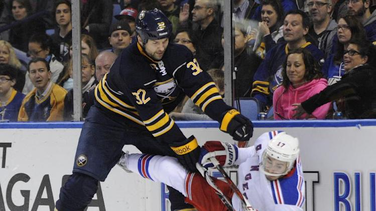 Sabres forward John Scott suspended 7 games