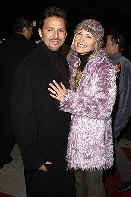 DeDee Pfeiffer and husband at the Beverly Hills premiere of I Am Sam