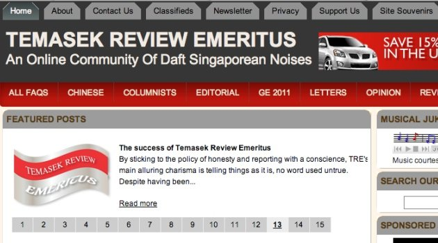 TEMASEK REVIEW EMERITUS to continue operations | SingaporeScene ...