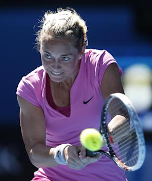 Stosur wins 1st-round match at Australian Open