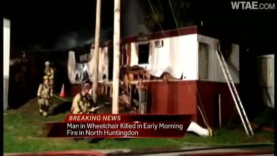 Fire kills 1 in North Huntingdon
