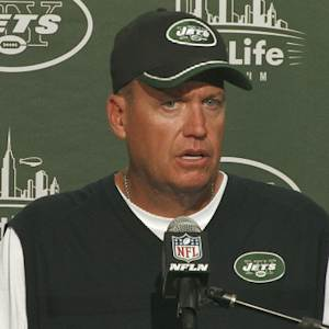 New York Jets head coach Rex Ryan maintains confidence in quarterback Geno Smith