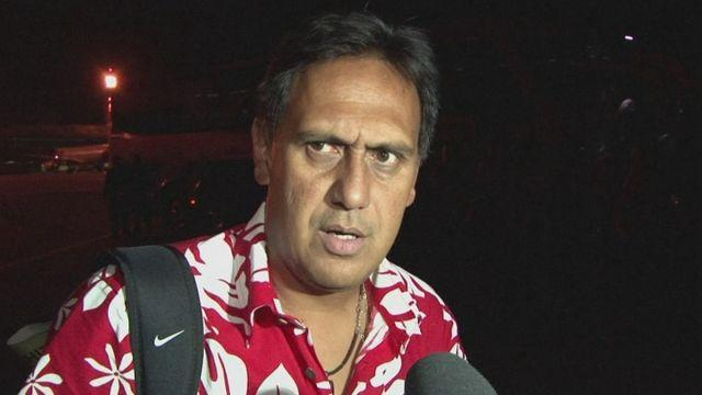 Tahiti arrive in Brazil for Confederations Cup