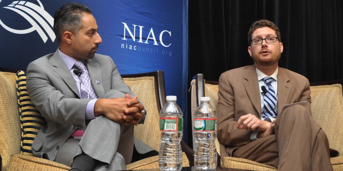 NIAC + J Street Dylan Williams Trita Parsi