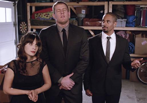 New Girl Sneak Peek: Jess Makes Sweet Music With NFL Star JJ Watt