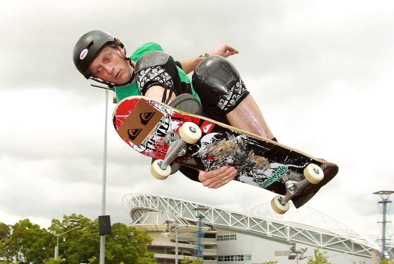 Tony Hawk's wild horizontal loop, and a brief history of extreme sports stunts