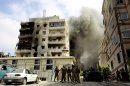 Lebanese troops secure hardline cleric's complex