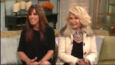Melissa and Joan Rivers stops by Access Hollywood Live on February 1, 2012 -- Access Hollywood