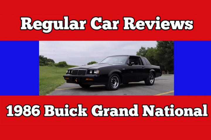 Regular Car Reviews Explains Why Buick Grand National is an American Legend