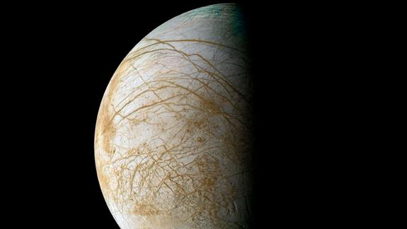 Ocean on Jupiter's Moon Europa Likely Deep Underground