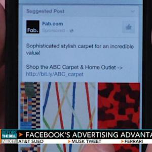 Facebook's Mobile Ads Surge in Pursuit of Google Goal
