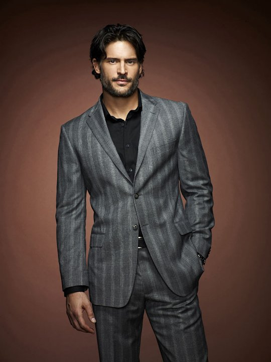 "Joe Manganiello stars as Alcide Herveaux in ""True Blood."""
