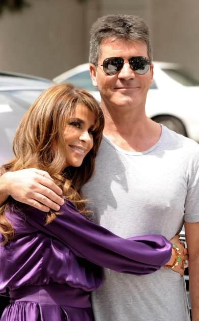 Paula Abdul, Simon Cowell -- Getty Images