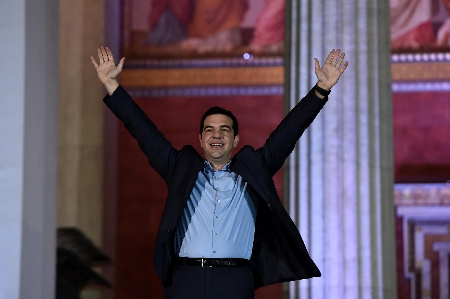 Alexis Tsipras, boyish PM out to restore Greek dignity