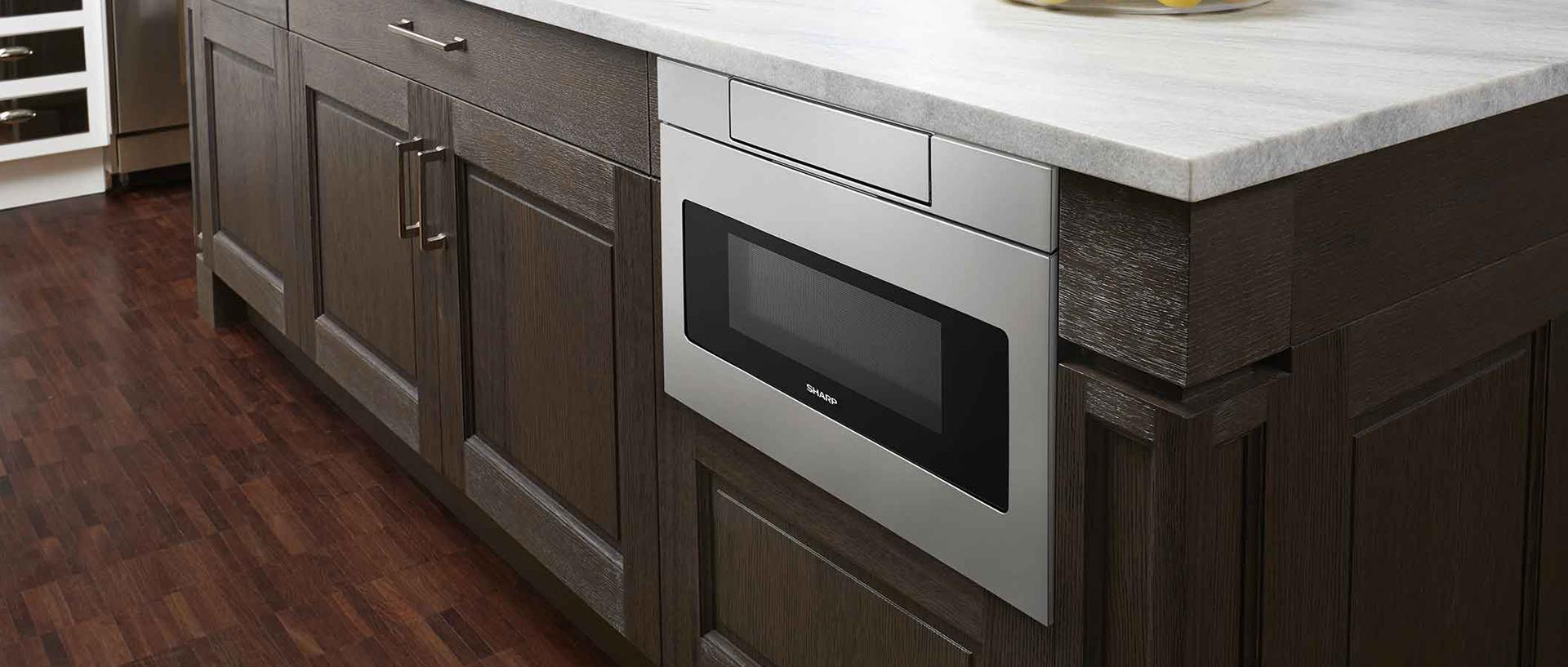 Slide-in and Built-in Appliances Give Your Kitchen a Sleek Look