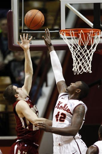 Anderson leads BC Past Virginia Tech, 86-75