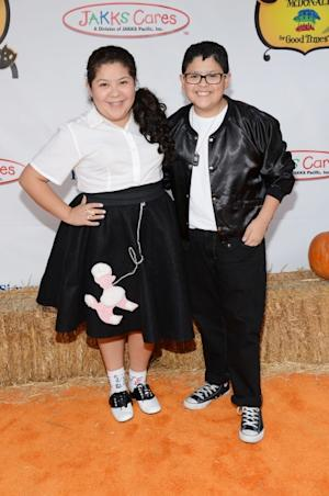 Raini Rodriguez and brother Rico Rodriguez attend Camp Ronald McDonald for Good Times 20th Annual Halloween Carnival at the Universal Studios Backlot on October 21, 2012 in Universal City, Calif. --