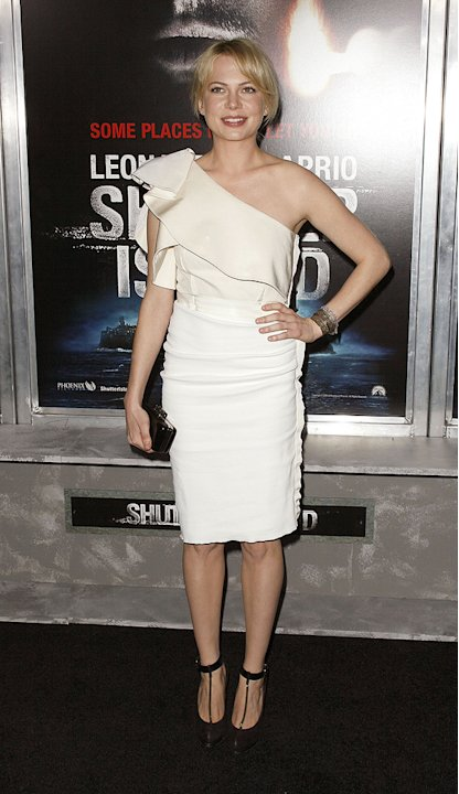 Shutter Island 2010 NY Premiere Michelle Williams