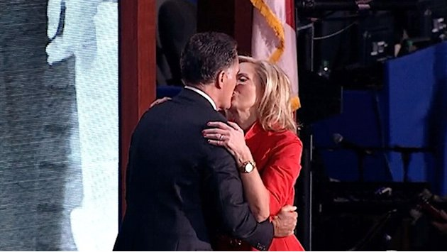 Mitt Romney embraces Ann after&nbsp;&hellip;