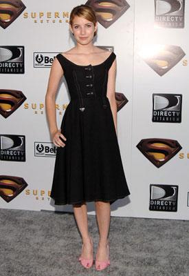 Emma Roberts at the Westwood premiere of Warner Bros. Pictures' Superman Returns