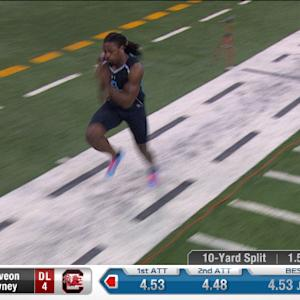 2014 Combine workout: Jadeveon Clowney