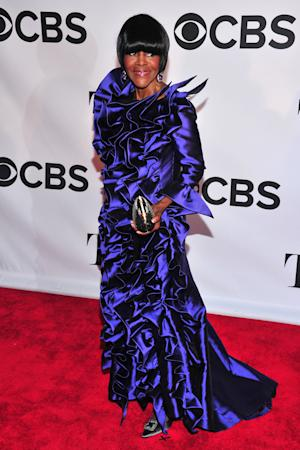 Tony Award nominee Cicely Tyson arrives on the red carpet at the 67th Annual Tony Awards, on Sunday, June 9, 2013 in New York. (Photo by Charles Sykes/Invision/AP)