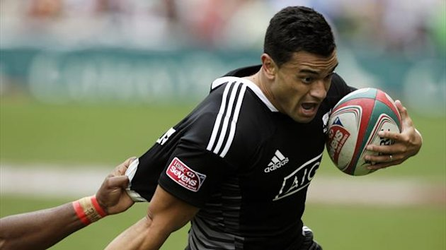 New Zealand Sevens player Sherwin Stowers (REUTERS)