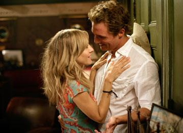 Sarah Jessica Parker and Matthew McConaughey in Paramount Pictures' Failure to Launch