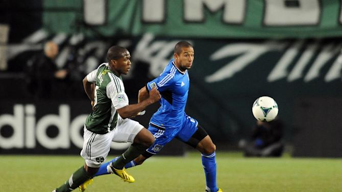 MLS: San Jose Earthquakes at Portland Timbers