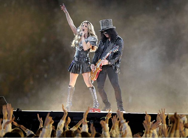 Fergie Slash Super Bowl Performance