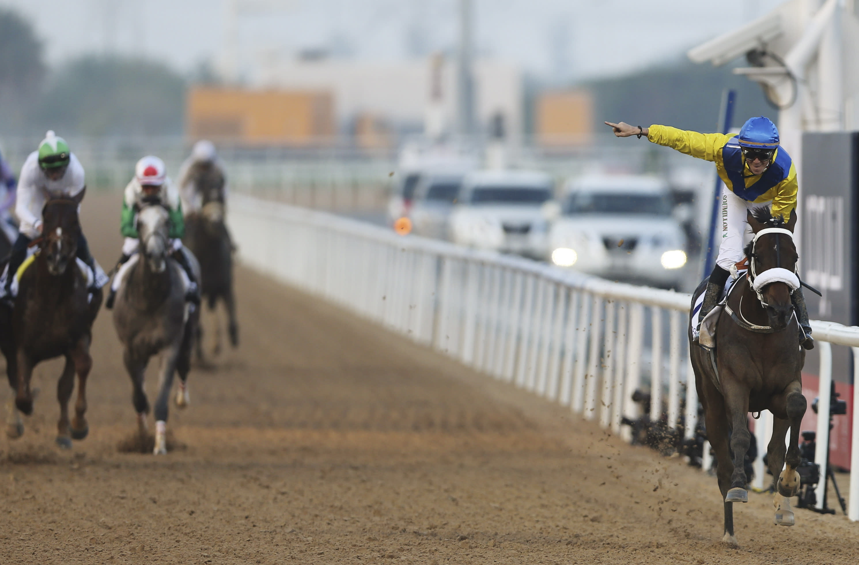 Prince Bishop wins Dubai World Cup, California Chrome 2nd