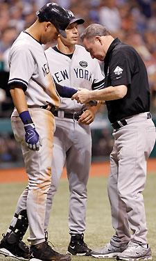Yankees take a hit, even if Jeter doesn't