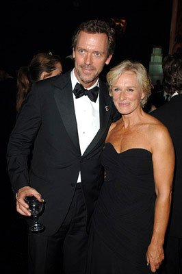 Hugh Laurie and Glenn Close Governor's Ball Emmy Awards - 9/18/2005
