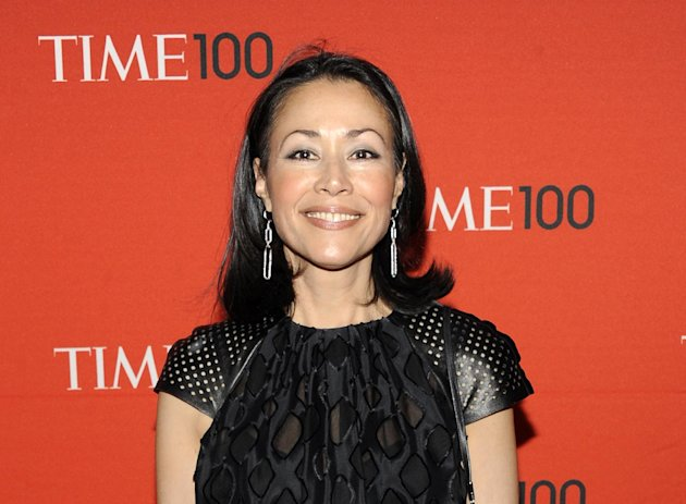 FILE - This April 24, 2012 file photo shows NBC&#39;s Ann Curry at the TIME 100 gala at the Frederick P. Rose Hall in New York. Curry has made her first return to NBC&#39;s &quot;Today&quot; show since she was replaced as one of its hosts in June. Curry was on the &quot;Today&quot; set in London on Thursday to introduce a filmed report on a still photographer. She lost her job as Matt Lauer&#39;s co-anchor in June and was replaced by Savannah Guthrie. (AP Photo/Evan Agostini, file)