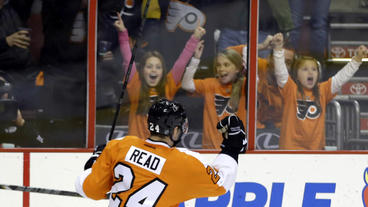 Read scores 2 goals, Flyers top Sabres 4-1