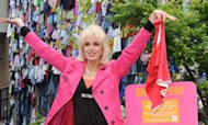 Joanna Lumley Fronts Clothes Recycle Drive