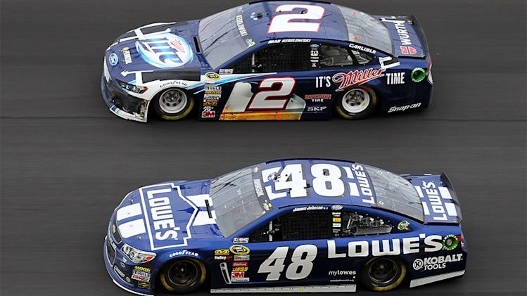 Keselowski, Johnson pick up where they left off