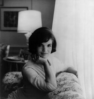 Picture of Jacqueline Kennedy from the White House.