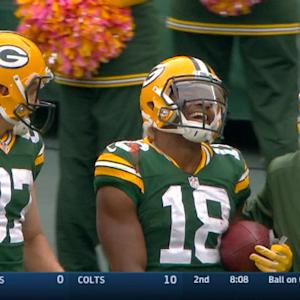 Green Bay Packers wide receiver Randall Cobb, Ketchup and a Toothbrush