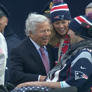 Patriots crowd sings 'Happy Birthday' to Ice Bucket Challenge creator
