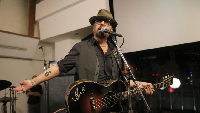 Dave Stewart performs at A Night for Jolie Levine Sponsored by Lupus LA & Sweet Relief Musicians Fund, at Henson Studios on Friday, May, 31, 2013 in Los Angeles. (Photo by Todd Williamson/Invision for Charity/AP Images)