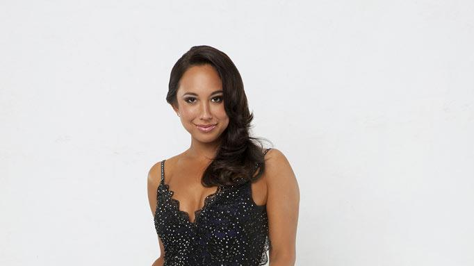 "Pro dancer Cheryl Burke partners with Rob Kardashian on the 13th season of ""Dancing with the Stars."""